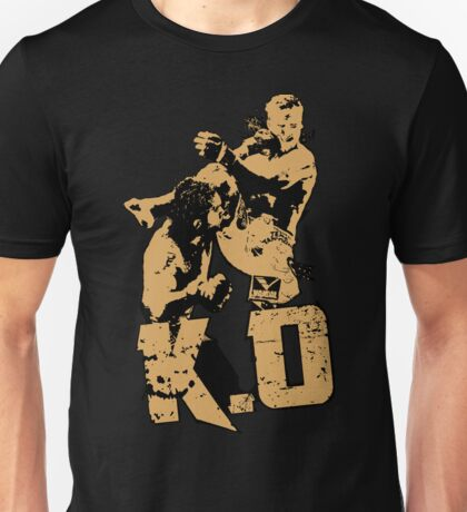 fighter deadly punch KO Unisex T-Shirt