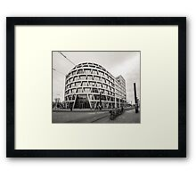 Quiet day on the street in Berlin Framed Print