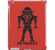 RETROBOT (black) iPad Case/Skin