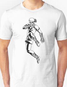 muay thai skull thailand martial art sport power kick impact decal Unisex T-Shirt