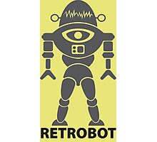 RETROBOT (steel) Photographic Print