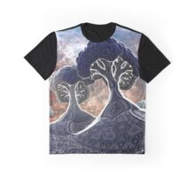 Broccoli Planet in Winter Graphic T-Shirt