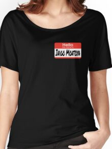 The Princess Bride Quote - Hello My Name Is Inigo Montoya Women's Relaxed Fit T-Shirt