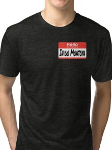 The Princess Bride Quote - Hello My Name Is Inigo Montoya Tri-blend T-Shirt