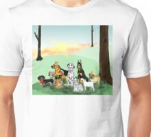March of the Dogs Unisex T-Shirt