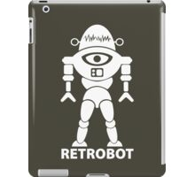RETROBOT (white) iPad Case/Skin