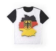 Bundesrepublik Deutschland (Mapped) Graphic T-Shirt