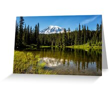 Mt Rainier from Reflection Lake, No. 3 Greeting Card