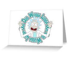 rick Wubba Greeting Card