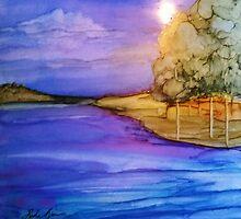 Island in the Sun by Linda Ginn Art