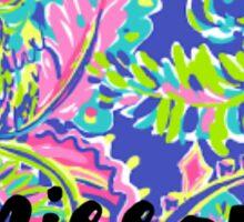 Missouri Lilly Outline Sticker