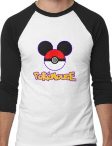 PokeMouse Men's Baseball ¾ T-Shirt