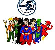 JLA Characters by KewlZidane