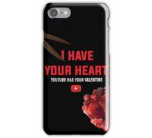 Youtube Cut My Heart iPhone Case/Skin