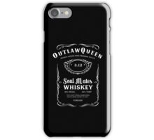 Outlaw Queen Whiskey iPhone Case/Skin