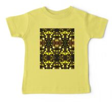 Daisies Polarized in Symmetry Baby Tee
