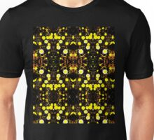 Daisies Polarized in Symmetry Unisex T-Shirt