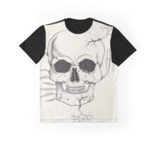Trees and a Skull Graphic T-Shirt