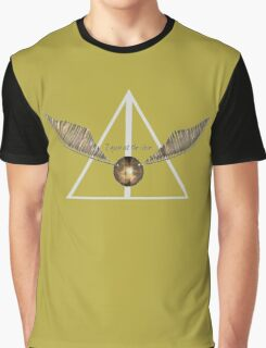 Harry Potter Snitch Hufflepuff Graphic T-Shirt