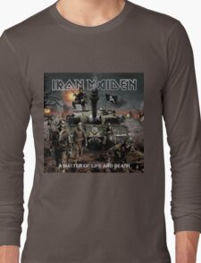 IRON MAIDEN - A MATTER OF LIFE AND DEATH Long Sleeve T-Shirt