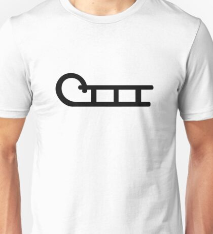 Sledge sleigh Unisex T-Shirt
