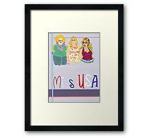 Miss America Framed Print