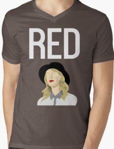Taylor Swift - Red Tour Fanart Mens V-Neck T-Shirt