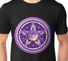 Purple Celtic Pagan Pentacle Unisex T-Shirt
