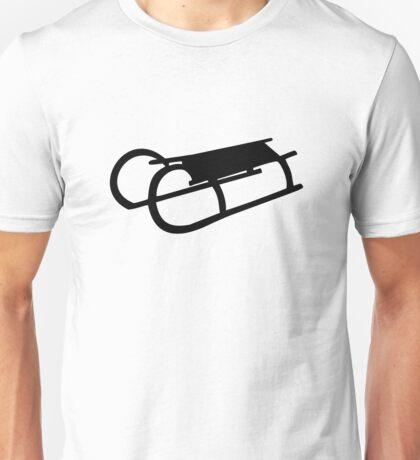 Sled sleigh Unisex T-Shirt