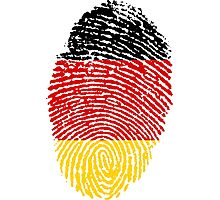 Bundesrepublik Deutschland (Fingerprint) Photographic Print