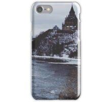 Winter in Ottawa water iPhone Case/Skin