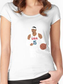 Melo Women's Fitted Scoop T-Shirt
