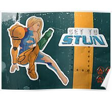 Set To Stun Poster