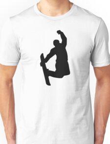 Snowboarder jump Unisex T-Shirt