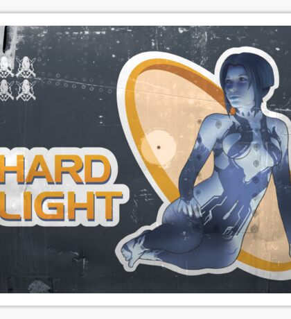 Hard Light Sticker