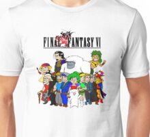 Final Fantasy 6 Characters Unisex T-Shirt
