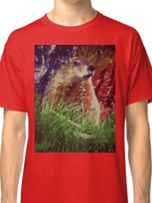 2015. Photography. By. Will Divinely Create/Animal_Groundhog Classic T-Shirt