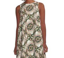 Decorative Illustration A-Line Dress