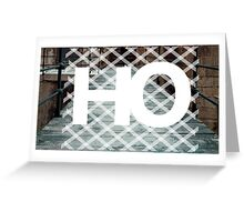H-O Bridge Greeting Card