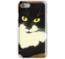 Tuxedo Cat Painting iPhone Case/Skin