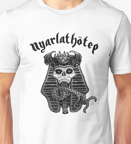 Nyarlathotep - Black and White Unisex T-Shirt