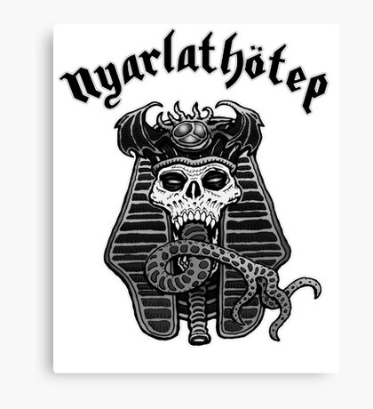 Nyarlathotep - Black and White Canvas Print