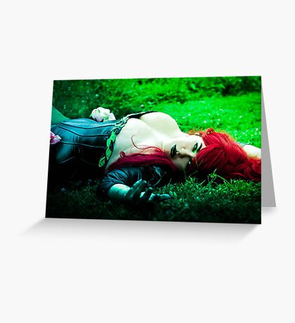 Lay with Lady Poison Greeting Card