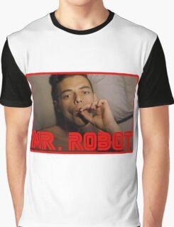 Mr Robot Elliot Alderson Graphic T-Shirt