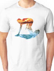 Surfing White Version Unisex T-Shirt