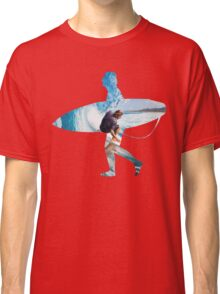 Surfer white version Classic T-Shirt