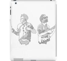 Twenty One Pilots Line drawing iPad Case/Skin