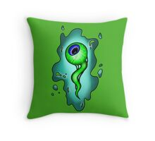 Septic Sam  Throw Pillow