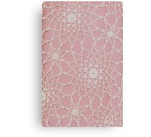 Vintage Tatted Lace  Canvas Print
