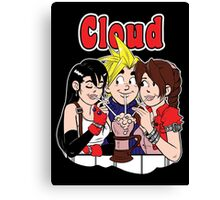 Cloud Comics Canvas Print